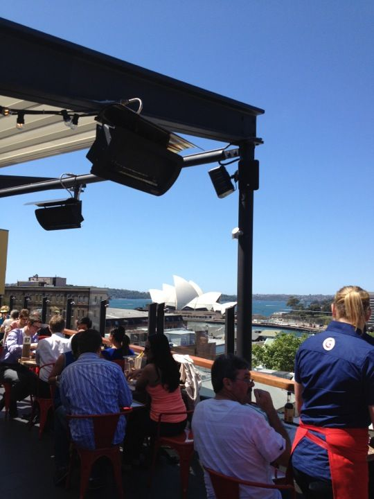 The Glenmore Rooftop Hotel (Recommended by friends .. young hip pub atmosphere with amazing views and food kids would enjoy)