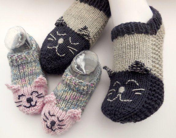 Socken Stricken Mit Katzenmotiv Pdf Kinder Socken Stricken Kindersocken Stricken Hausschuhe Kinder