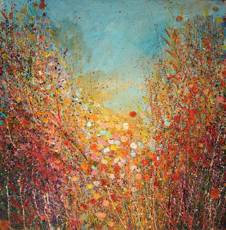 "Saatchi Online Artist: Sandy Dooley; Acrylic 2013 Painting ""Autumn Light"""
