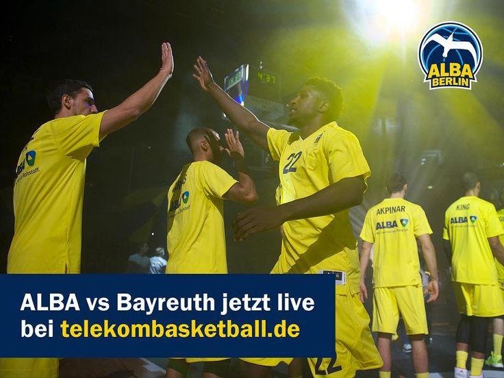 Vorhang auf zum zweiten Heimspiel der Saison! ALBA vs @medibayreuth jetzt live auf http://ift.tt/1CYCCq7. by albaberlin