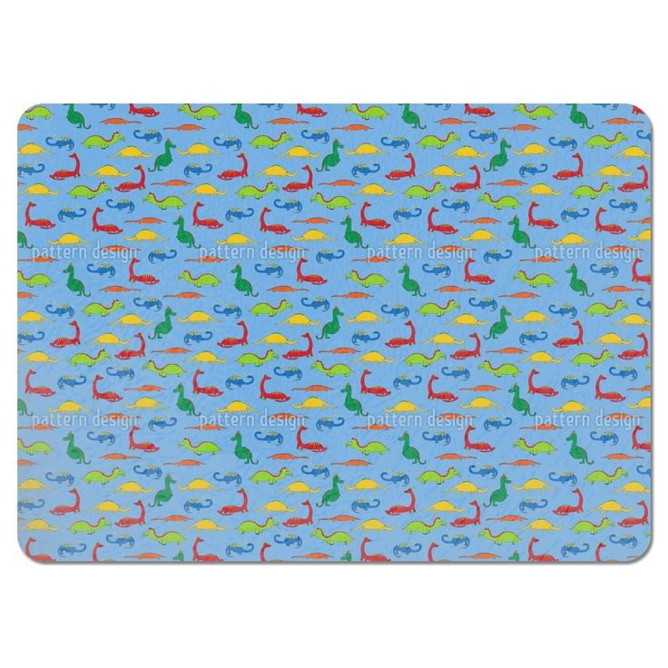 Uneekee Dragons and Crocodiles Placemats