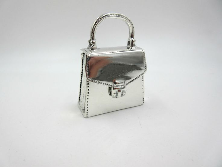 ESTAE Tiffany & Co Silver Purse Handbag Pill Box Case Container Rare Vintage #TiffanyCo