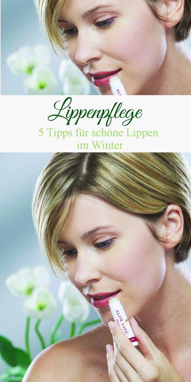 Lippenpflege - 5 Tipps für schöne Lippen im Winter