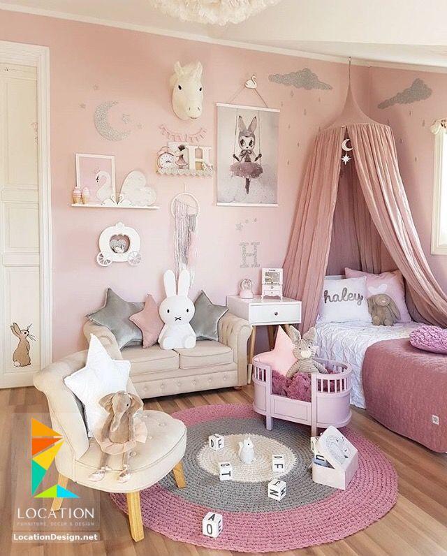 غرف نوم صغيرة المساحة للاطفال لوكشين ديزين نت Pink Girl Room Toddler Bedrooms Toddler Bedroom Girl