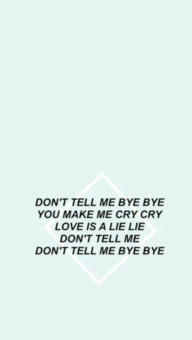 BTS - Run Lyrics Wallpaper
