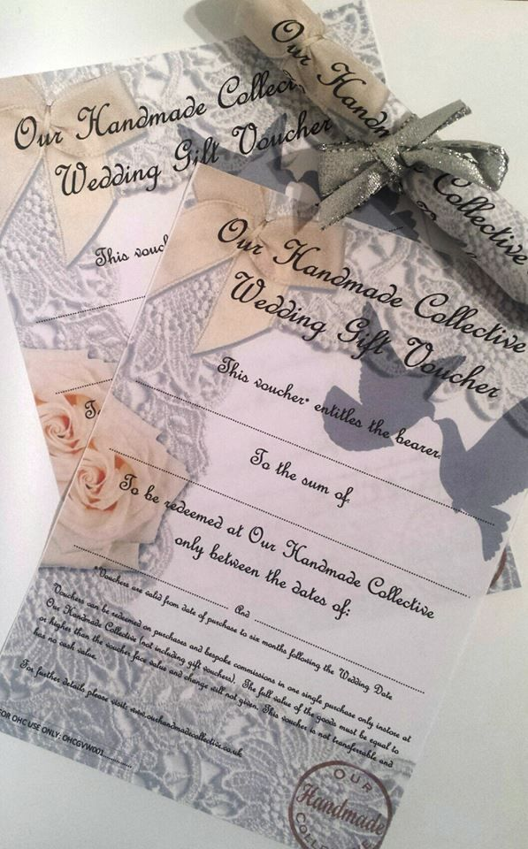 Wedding vouchers now available