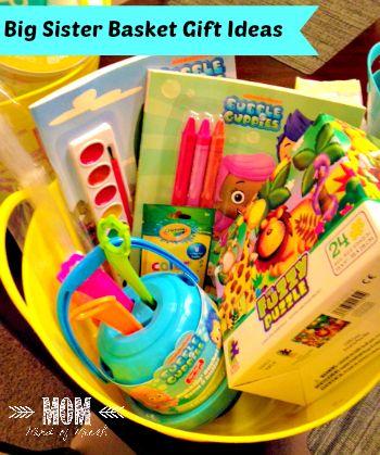 Big Sister Gift Basket Items