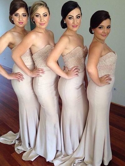 long mermaid bridesmaid dress, sweetheart bridesmaid dresses,sleeveless bridesmaid dresses,simple bridesmaid dress,PD390000101