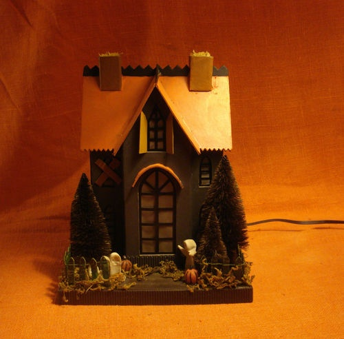 115 best images about diy crafts on pinterest deco for How to make a cardboard haunted house