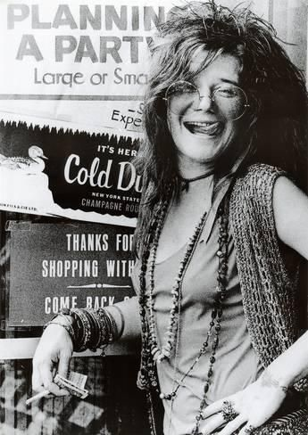 Janis Joplin Planning a Party Music Poster Print Posters - AllPosters.co.uk