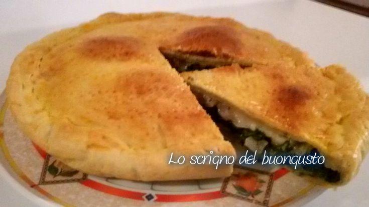 PIZZA RUSTICA BIETA E PANCETTA AFFUMICATA                                                                CLICCA QUI PER LA RICETTA http://loscrignodelbuongusto.altervista.org/pizza-rustica-bieta-e-pancetta-affumicata/