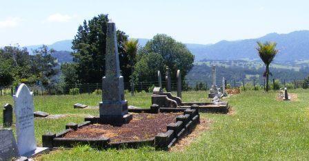Okaihau Catholic Churchyard New Zealand