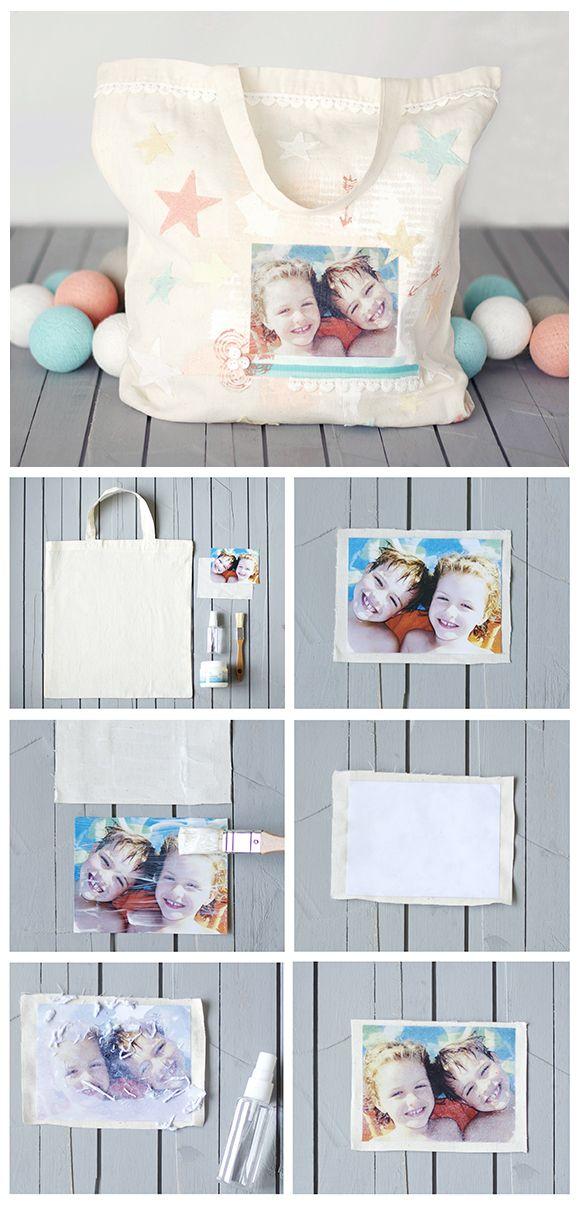 Hoy en el blog os enseño como hacer esta bolsa inspirada en el Scrapbooking!  http://starsandrockets.es/blog/