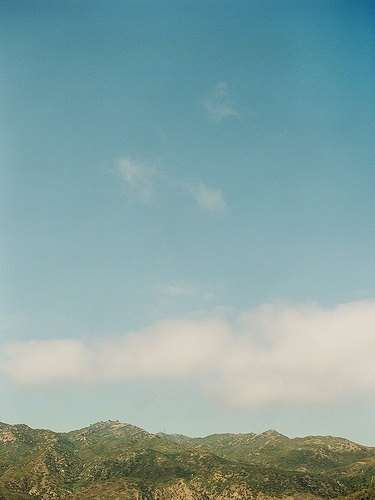 View of the Malibu Hills, across the PCH from Malibu Beach Inn.  Photo by Matt Edge Photography #ABGetaway