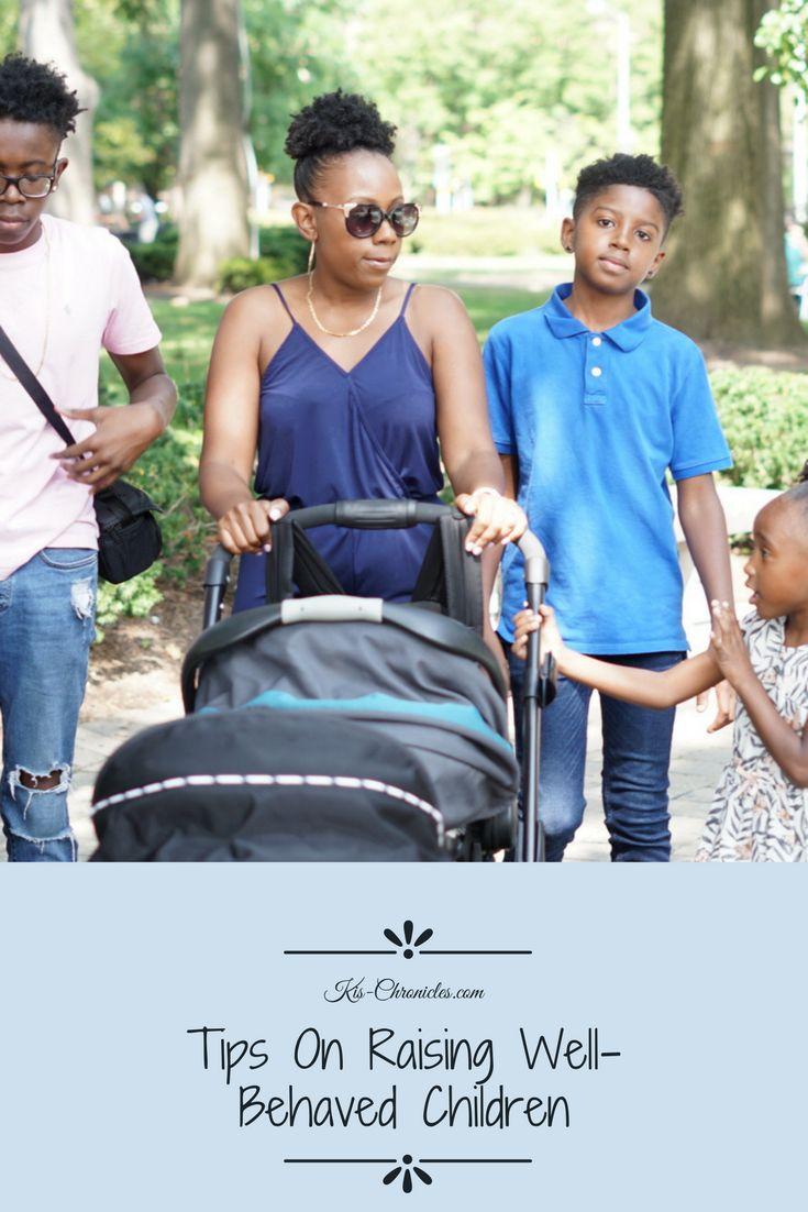 Tips on Raising Well-Behaved Children - Ki's Chronicles