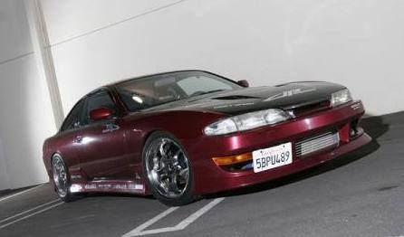 Nissan 240SX Full Body Kit 95 96 - Type 1 - JP Vizage  http://www.carbodykitstore.com/nissan-240sx-full-body-kit-type-p-53846.html?cPath=30_60_391