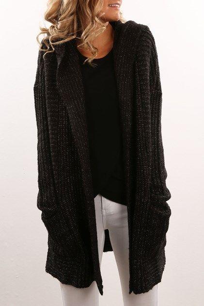 Homeward Bound Sweater Black