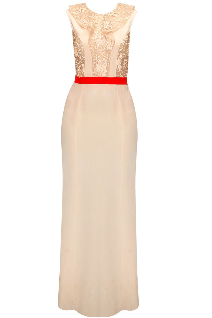 Nude wave embroidered panel dress by Morphe . Shop now: www.perniaspopups.... #morphe #dress #clothing #designer #perniaspopupshop #shopnow #happyshopping