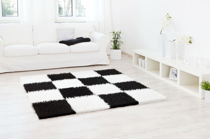 flexibles Schachbrettmuster  - Teppich Al Mano