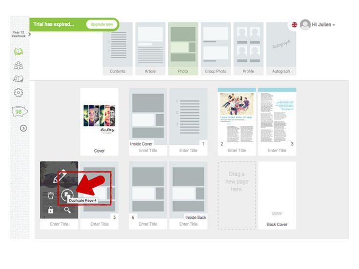 ponad 25 najlepszych pomysłów na pintereście na temat yearbook, Powerpoint templates