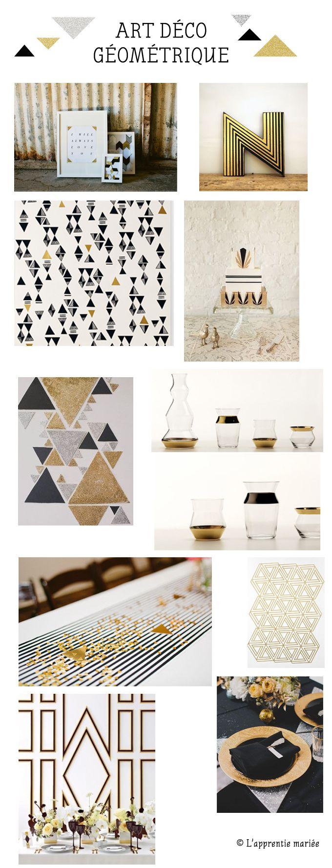 Inspiration Art Déco Géométrique