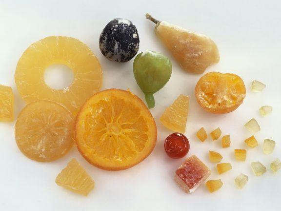 Kandierte Früchte ist ein Rezept mit frischen Zutaten aus der Kategorie None. Probieren Sie dieses und weitere Rezepte von EAT SMARTER!