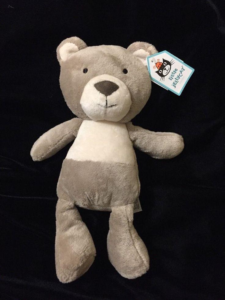Jellycat Caramel Bear Plush Soft Toy Teddy Beige Brown Tan Comforter Stuffed New #jellycat