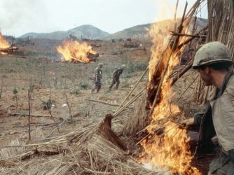 Vietnam carried out massive artillery bombardment on the U.S. Marine garrison at Khe Sanh. Khe Sanh was one of the longest and bloodiest battles in the war.