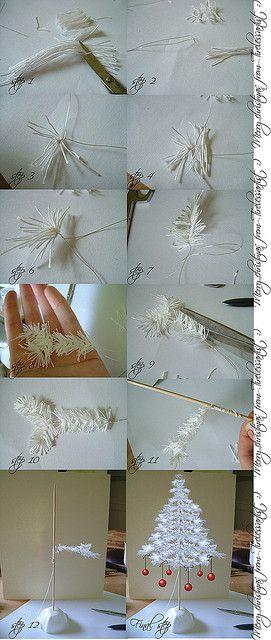 mini xmas_tree_tutorial by Tireless Artist, via Flickr: