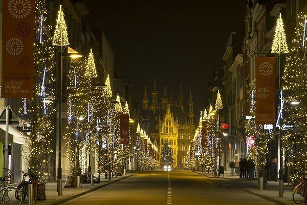 Leuven, Belgium Christmas Market