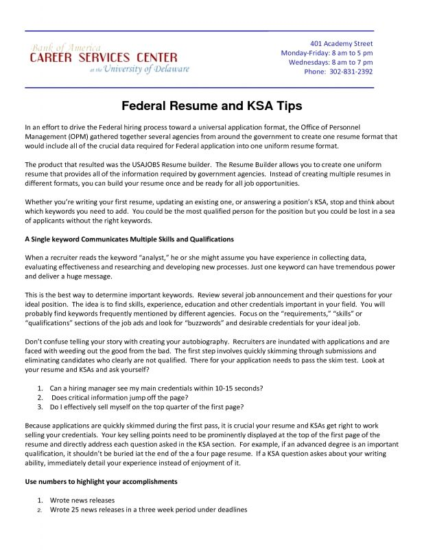 Sample Federal Resume Check More At Https Nationalgriefawarenessday Com 41611 Sample Federal Resume