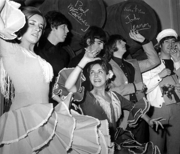 Fotos antiguas: Los Beatles en Madrid
