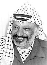 """The Nobel Peace Prize 1994 was awarded jointly to Yasser Arafat, Shimon Peres and Yitzhak Rabin """"for their efforts to create peace in the Middle East""""."""