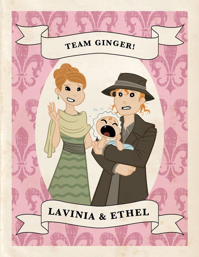 "Lavinia Swire, Ethel, & Charlie  Known for: Red manes, martyrdom, wanting desperately to be loved. (Posho member, unpictured: Edith.)   Quote: [Rasping death sound] (Lavinia) and ""Nobody tucks better than I do,"" (Ethel to Officer Bryant, tucking a blanket around him, pre-baby-mama-drama.)   Season 3 prediction: Charlie moves in with Mr. Monopoly, no longer wanting to be the ""nameless offshoot of a drudge."""