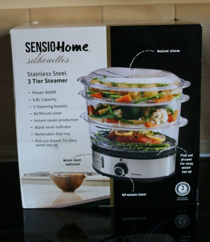 Sensio Home Stainless Steel 3 Tier Steamer – Review