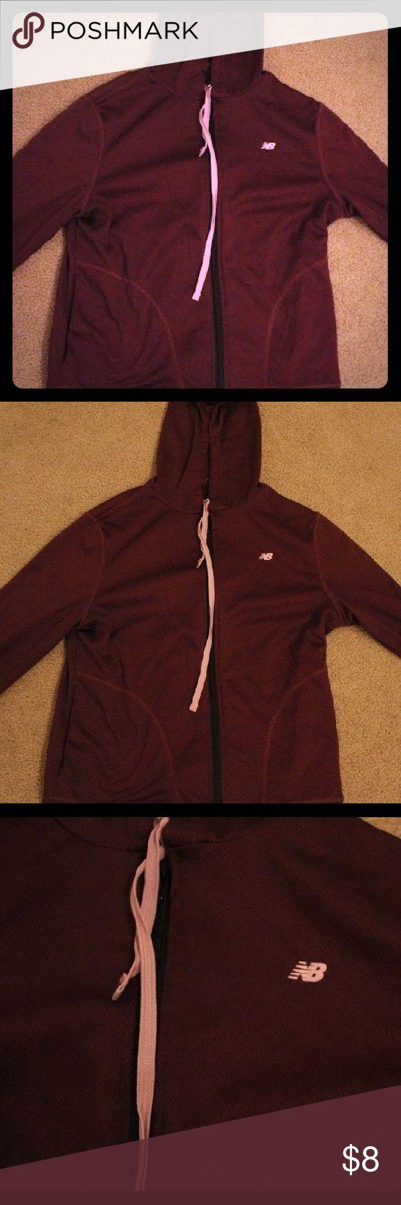 Women's new balance purple zip up workout hoodie Purple zip up workout hoodie. New Balance Tops Sweatshirts & Hoodies