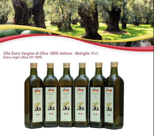 Extra virgin Olive Oil 100%