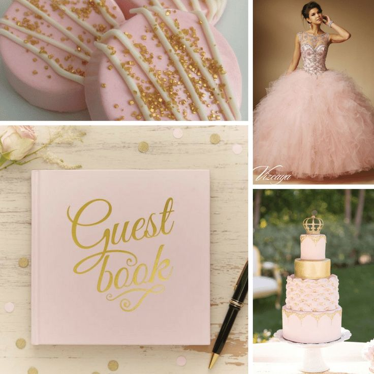 Pink Blush Theme | Quinceanera Ideas | Quinceanera Party Planning |