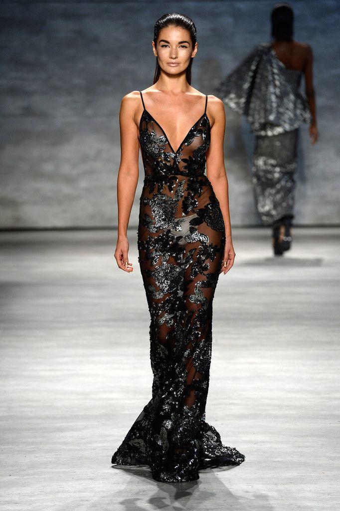 Michael Costello - Runway - Mercedes-Benz Fashion Week Spring 2015 - @bocadolobo inspiration