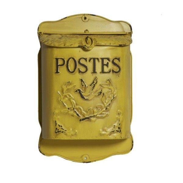 Schránka na dopisy Postes Jaune