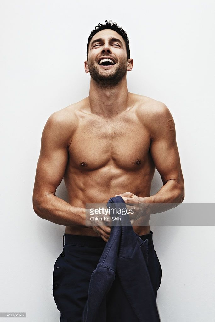 Modelactor Noah Mills Poses For August Man On March 24
