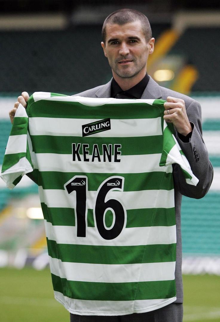 Roy Keane...celtic player