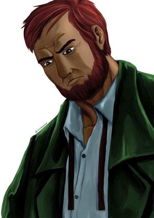 Professor Philip Angus Mortimer.  I had a thing for guys with amish beard…