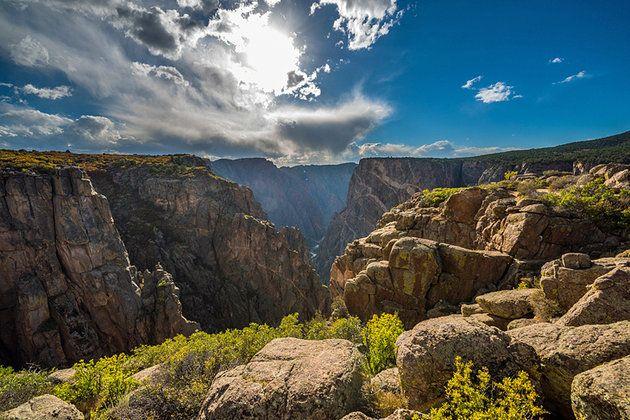 Park Narodowy Black Canyon of the Gunnison KOLORADO