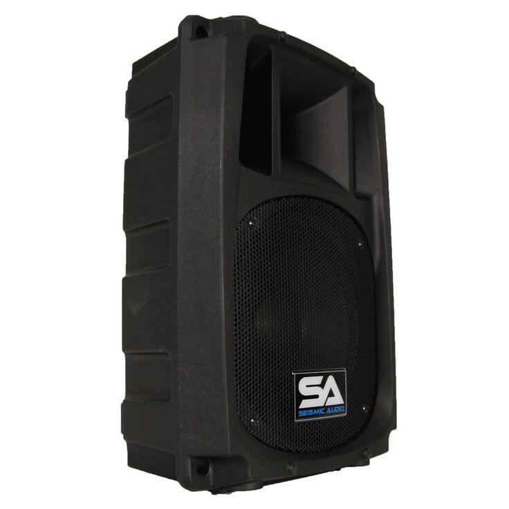 L Wave-8 - 2-Way 8 Inch Powered PA Speaker Cabinet