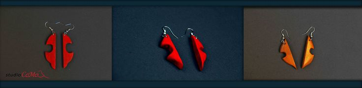 new shapes for #studiocamadesign accessorizes  #earrings