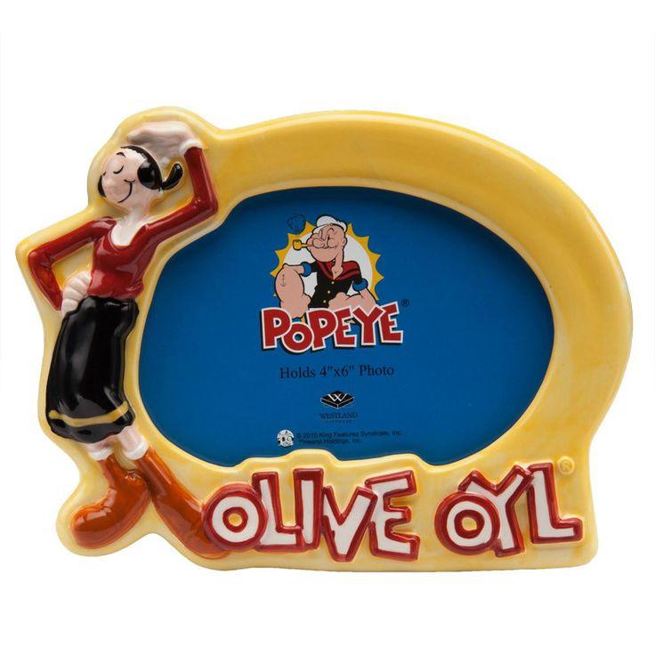 Popeye - Olive Oyl Picture Frame