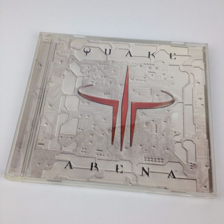 Quake III Arena PC CD Rom First Person Shooter Game Retro VTG 1999 ID Software