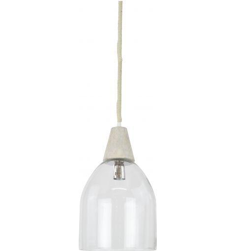 Tolosa Pendant Light, Clear Glass