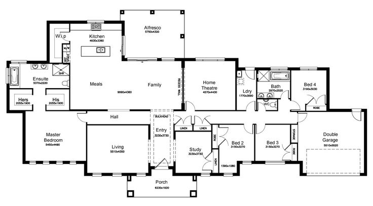 Fairmont 38.3 - Floorplan by Kurmond Homes - New Home Builders Sydney NSW
